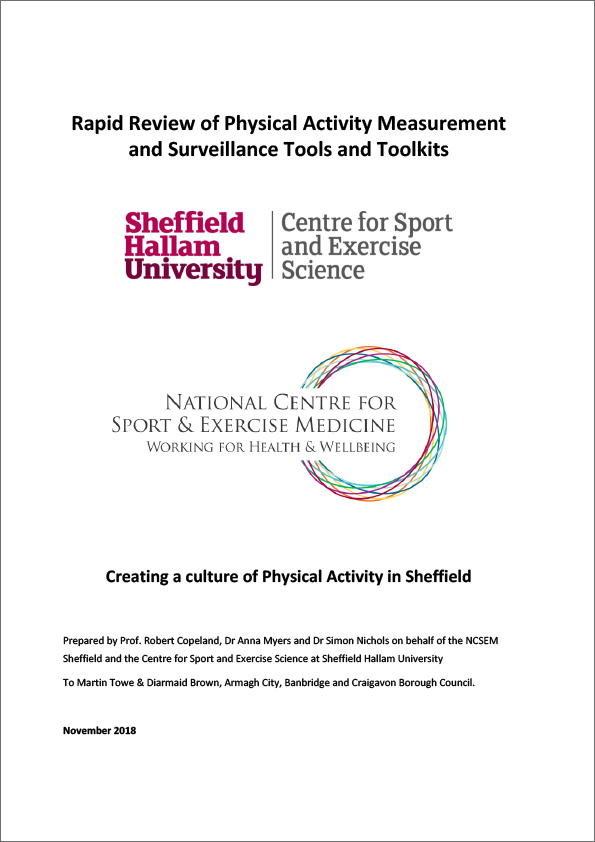 Sheffield Study cover
