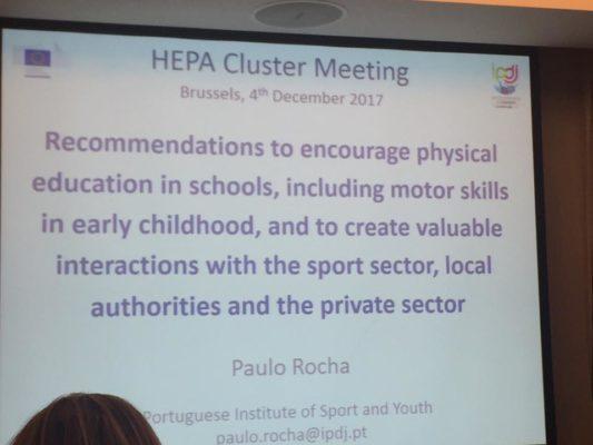 HEPA Cluster event
