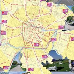 Cycle-pedestrian basins PD