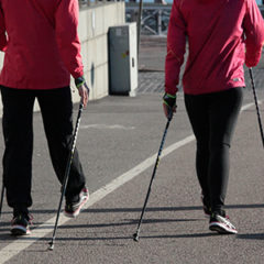 Nordic walking in the Euganean Hills - Padua, Italy