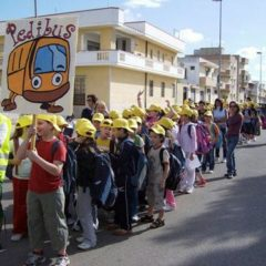 The walking school bus - Rome, Italy