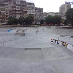 Skate park Izgrev - Burgas, Bulgaria