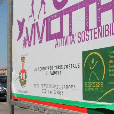 Hepness participates in Vivicittà (live-the-city)